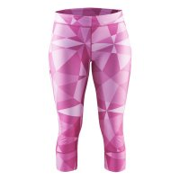 Craft Devotion Capri Tight Pink W